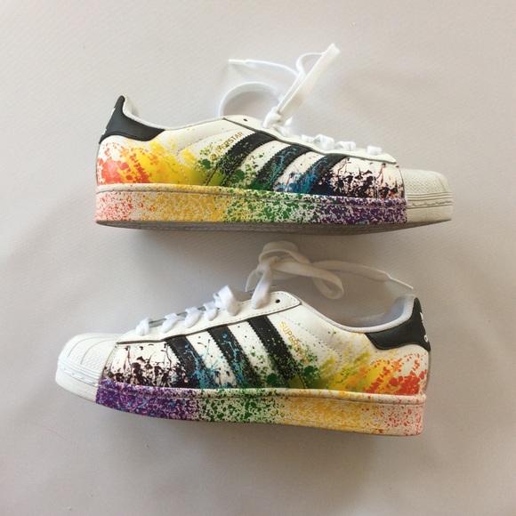Adidas Originals Superstar Pride Pack | tênis ❤️ | Sapato